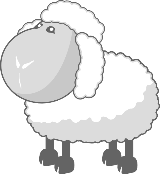 Moving clipart sheep Clker as: Sheep In art