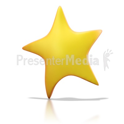 Moving clipart shining star #7