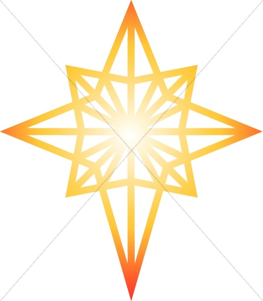 Moving clipart shining star #13