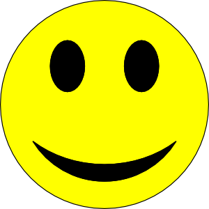 Moving clipart smiley face #2