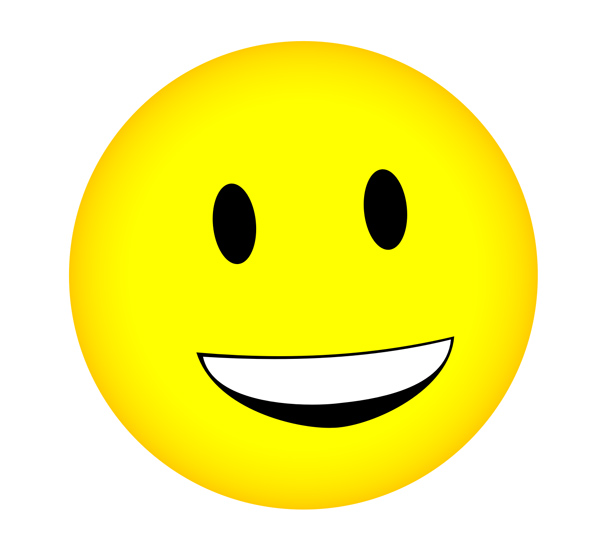 Moving clipart smiley face #7