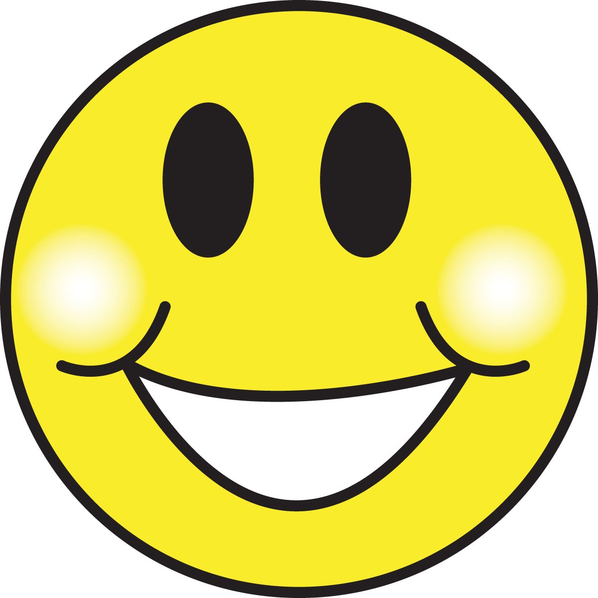 Moving clipart smiley face #14