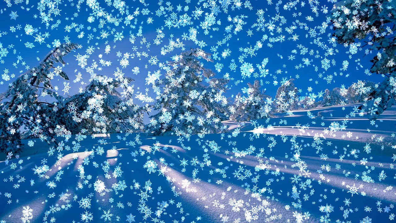 Moving clipart snow #15