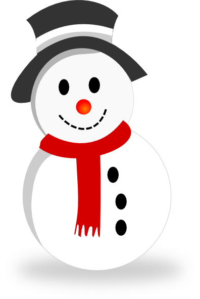 Moving clipart snowman #15