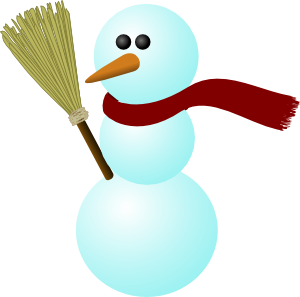 Moving clipart snowman #8