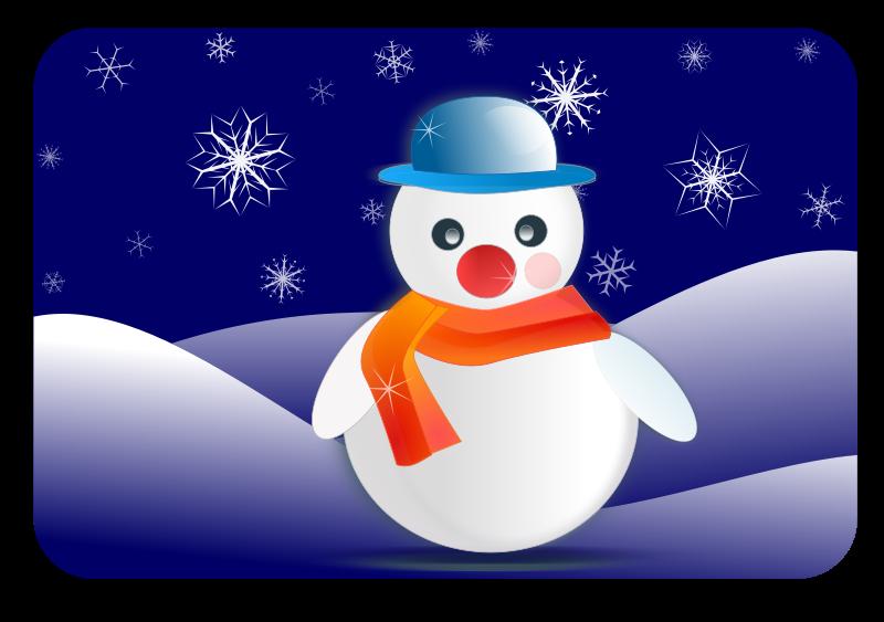 Moving clipart snowman Snowman Christmas Snowman Nightscene Graphics