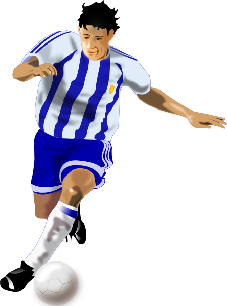 Moving clipart soccer Art Player library Clip Free