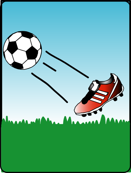 Football clipart football boot Cliparts Free Download Animated Clip