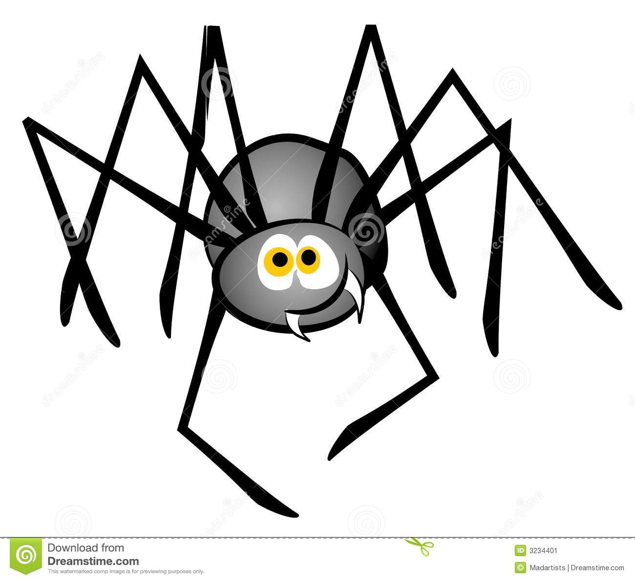 Moving clipart spider #3