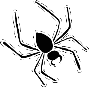 Moving clipart spider Spider Clipart Clipart  Free