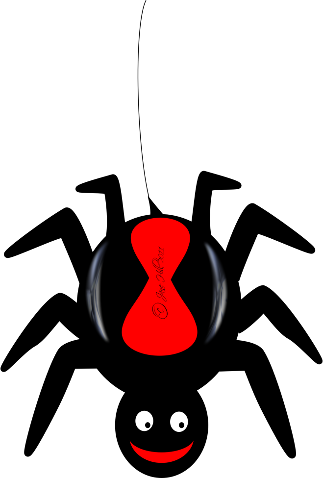 Moving clipart spider #6