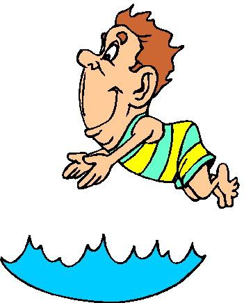 Smiley clipart swimming Clip Gifs on  Clip