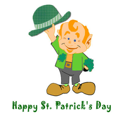 Moving clipart st patricks day #1