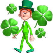 Moving clipart st patricks day #2