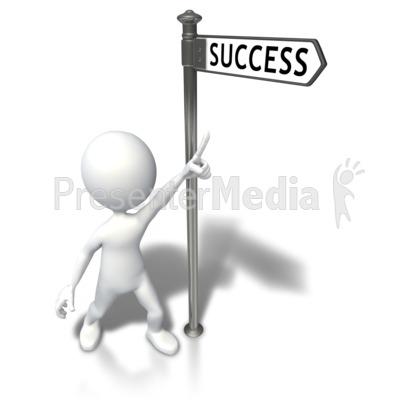Moving clipart success PowerPoint Stick Art Stick Clip