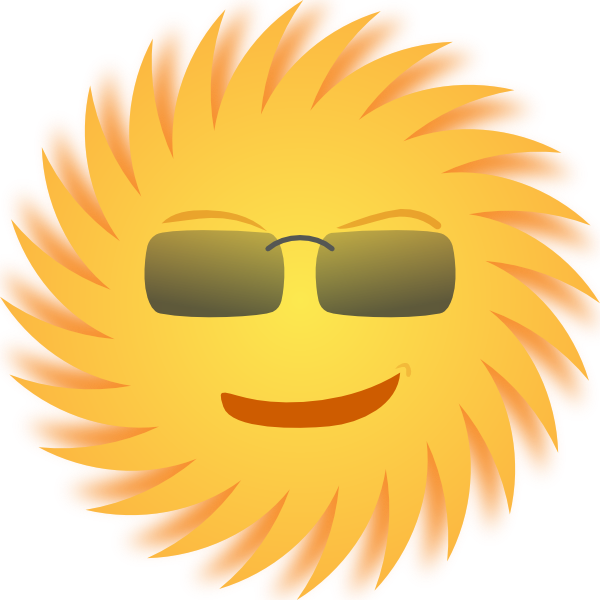 Moving clipart summer Clipart Mr Sun Art collection