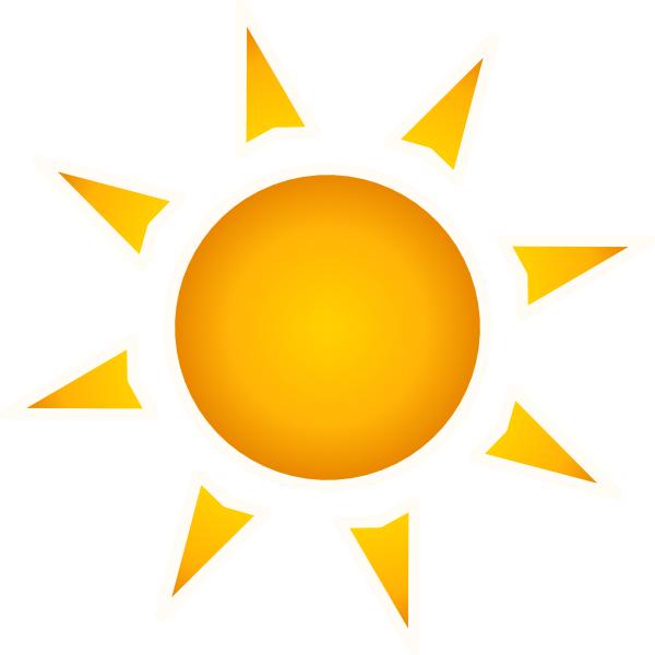 Small clipart sunshine Sun Animated Clipart Bay Sun