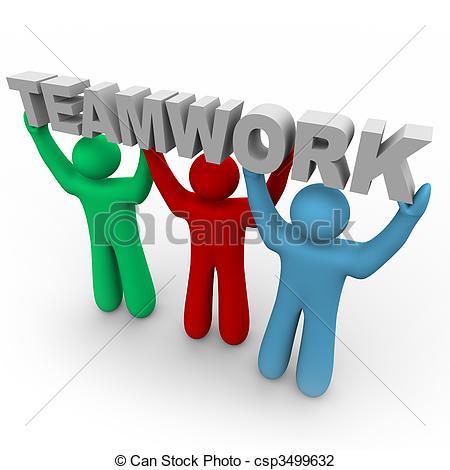 Moving clipart teamwork #11