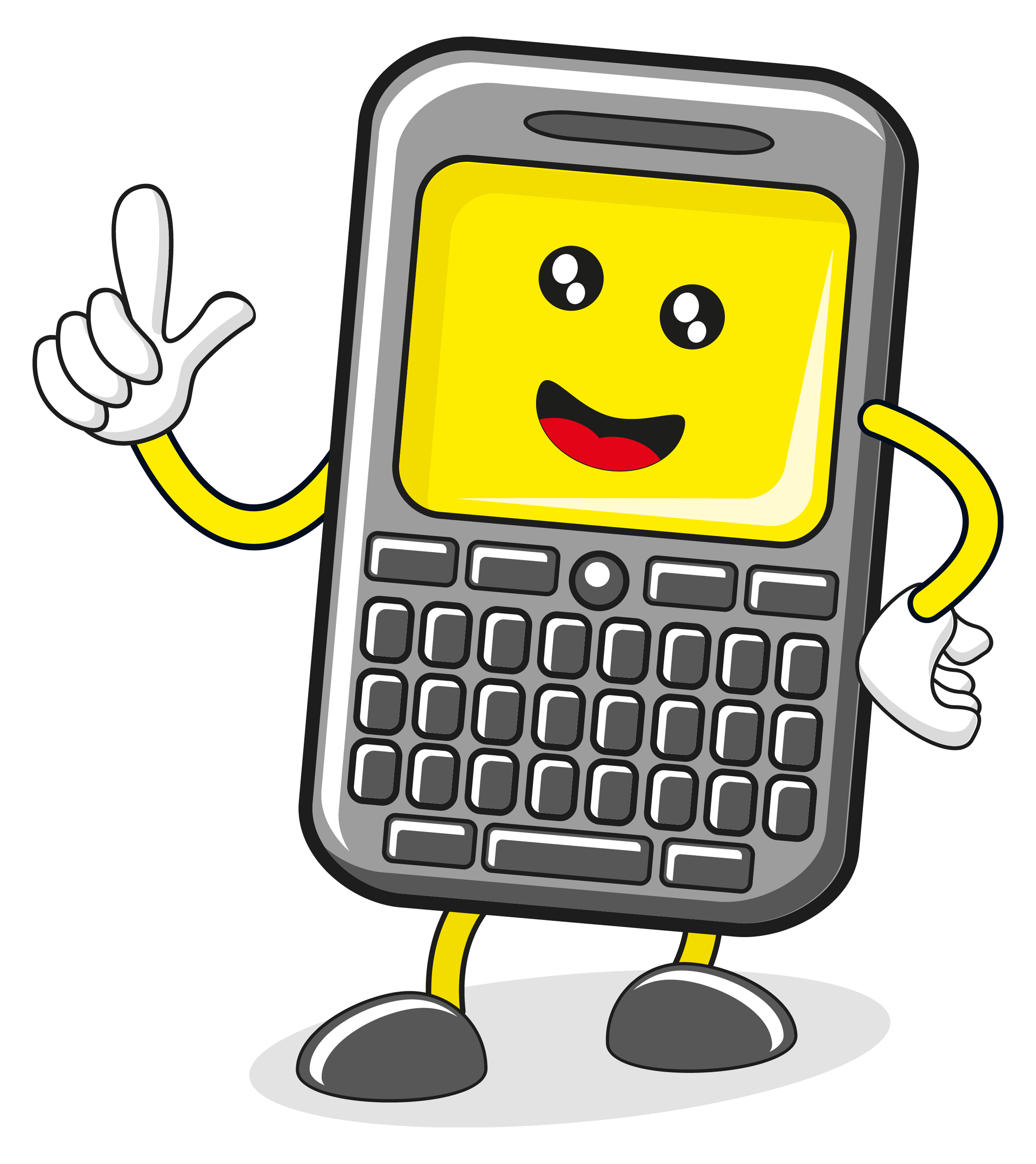 Phone clipart animated #2