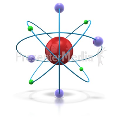 Universe clipart space background An and Technology  Atom