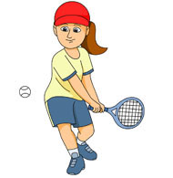 Moving clipart tennis Tennis Pictures for tennis Kb