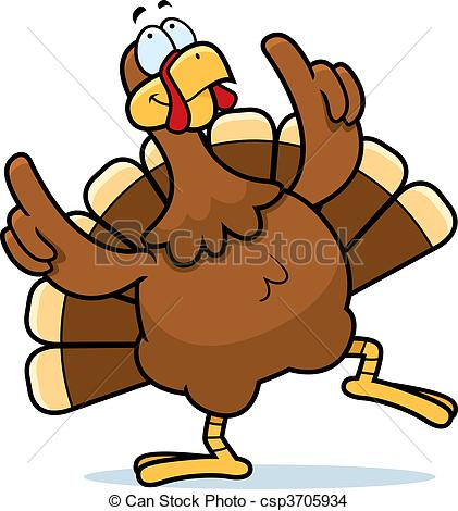 Danse clipart turkey Thanksgiving free Animated Turkey Clipart