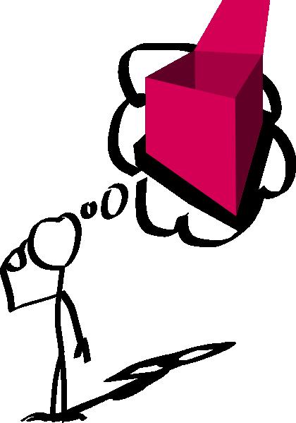 Moving clipart thinking Art Box vector com clip