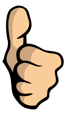 Moving clipart thumbs up Clipart thumb Clipart Thumbs up