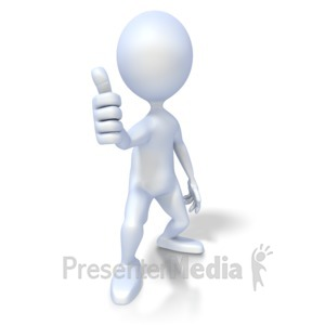 Moving clipart thumbs up Thumbs Up Presentation up jump