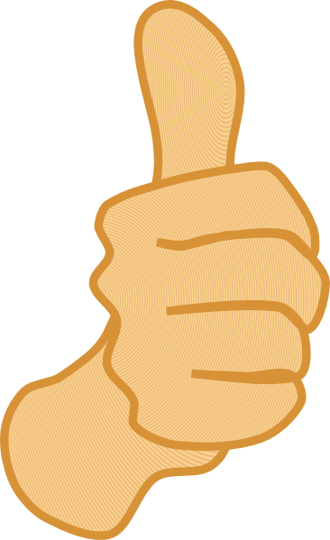 Moving clipart thumbs up At Up 3 Clker com