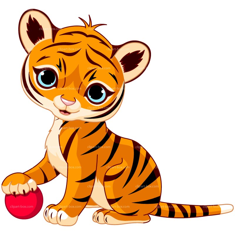 Moving clipart tiger #12