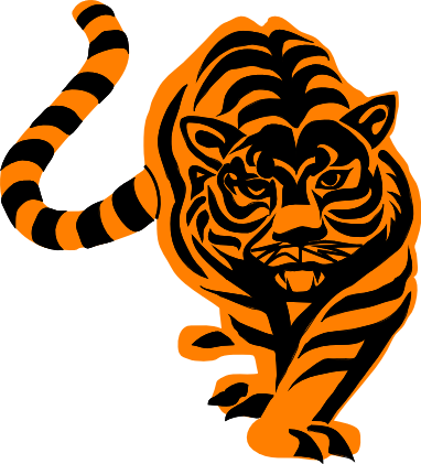 Moving clipart tiger #13