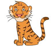 Graduation clipart tiger Clipart Tiger 45 eyes Free