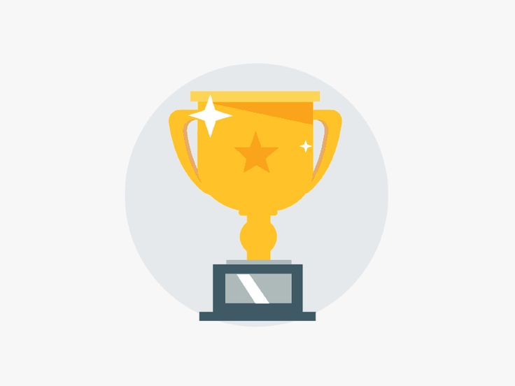 Moving clipart trophy Best Pinterest Trophy dribbble images