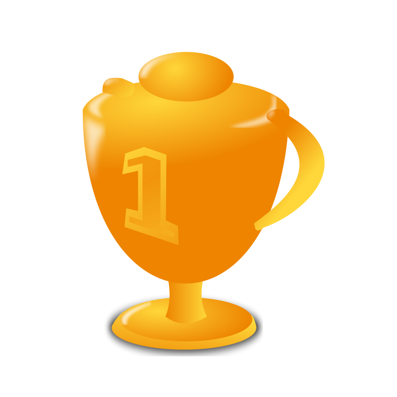 Moving clipart trophy #12