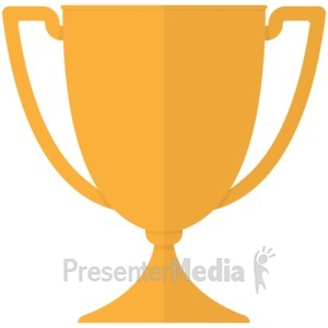 Moving clipart trophy #2