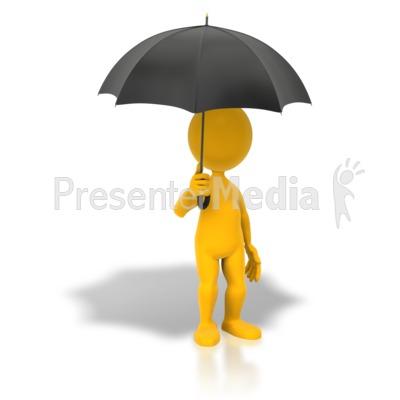 Moving clipart umbrella 5544 net Stick Presentation Umbrella