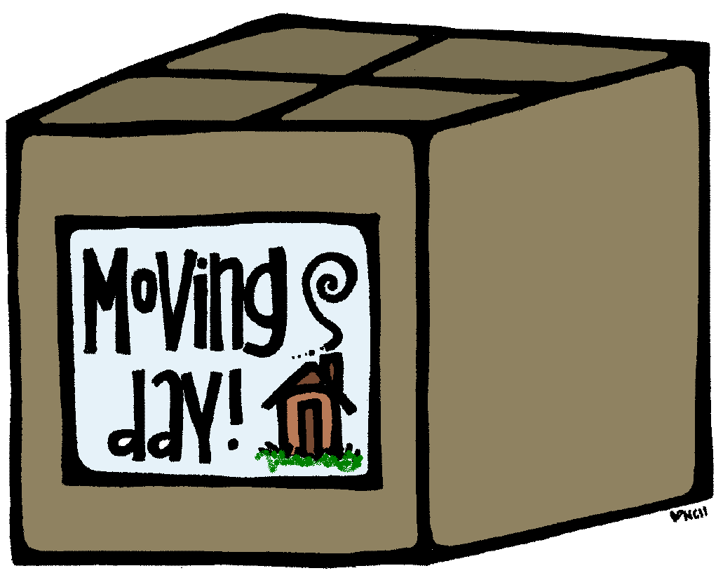 Moving clipart weekend #14