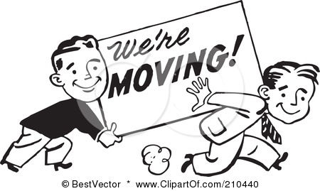 Moving clipart weekend #13