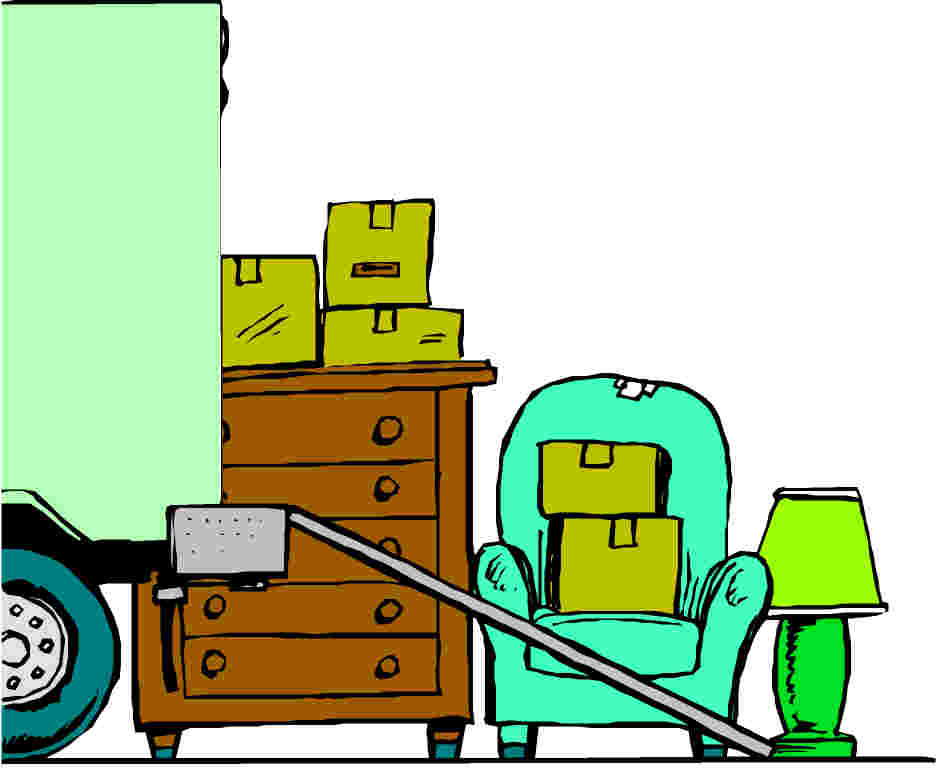 Moving clipart weekend #11