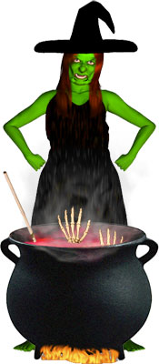 Moving clipart witch Free Clipart Clip cooking candy