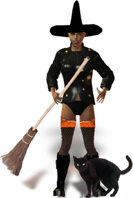 Moving clipart witch Clipart Halloween with black Halloween