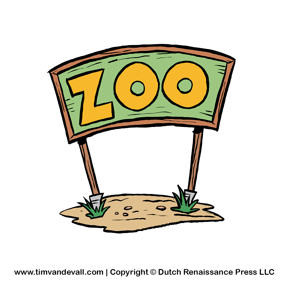 Moving clipart zoo Sign Zoo Clip Zoo Animals