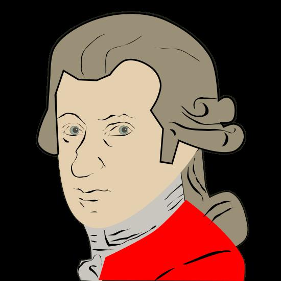 Mozart clipart Art Clip Free  Mozart