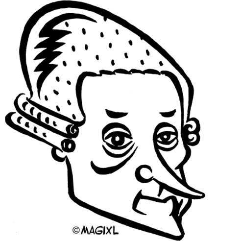Mozart clipart Mozart Caricature And and HUMOR music opera