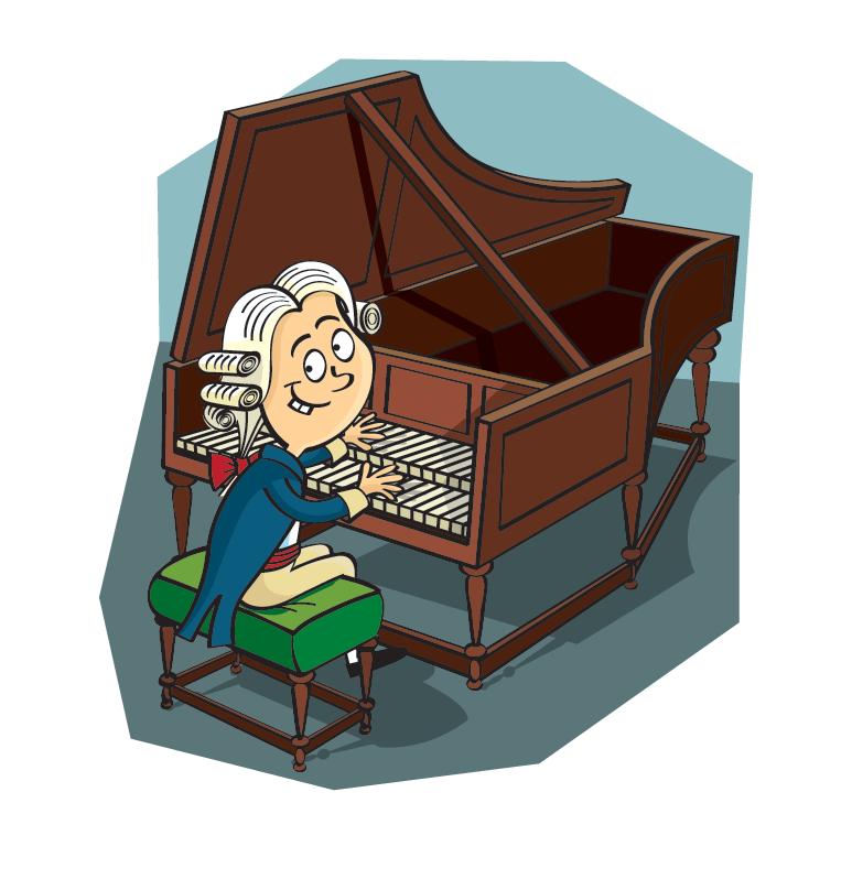 Mozart clipart Mozart Caricature Alan 2 Rowe Mozart cartoon