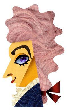 Mozart clipart Mozart Caricature Amadeus Levine  David W