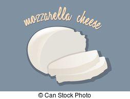 Butter clipart mozzarella Design mozzarella Flat cheese Art