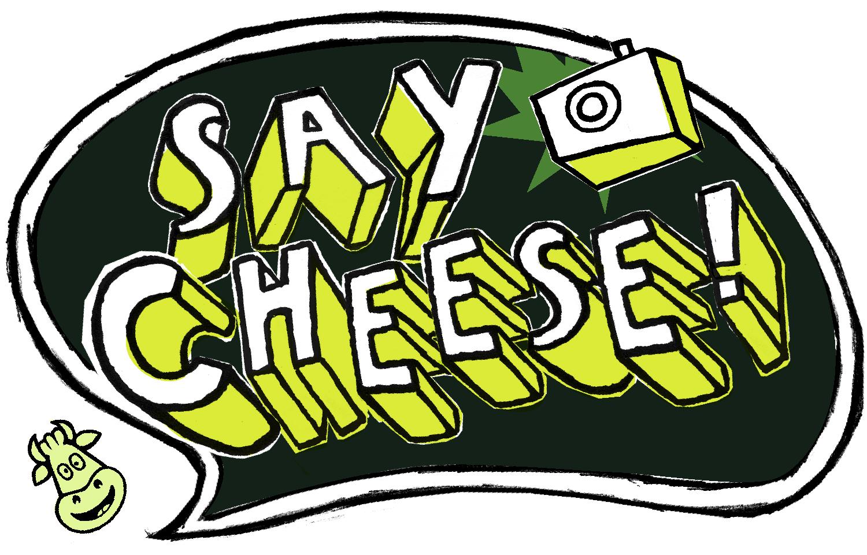 Please clipart say cheese Shredded Art Free Clip