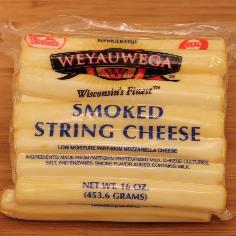 Mozzarella clipart cracker cheese Smoked Cheese String Weyauwega Dairy
